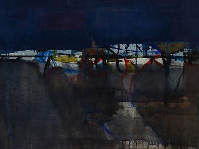 Prabhakar Kolte's Abstraction