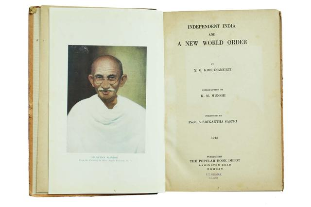 INDEPENDENT INDIA AND A NEW WORLD ORDER