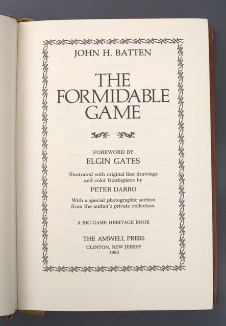 Formidable Game