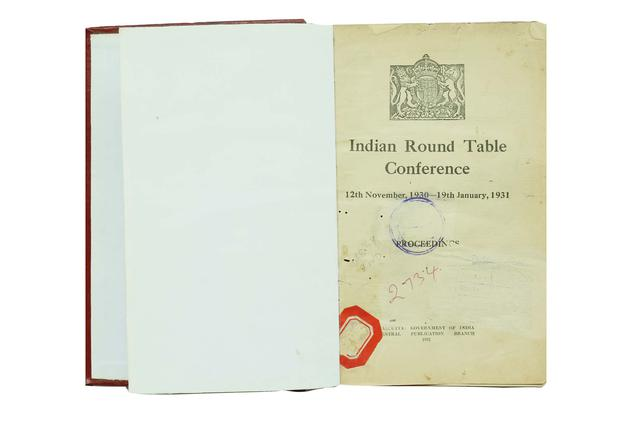 INDIAN ROUND TABLE CONFERENCE (FIRST SESSION)