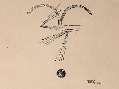 V. S. Gaitonde: Abstract Drawing