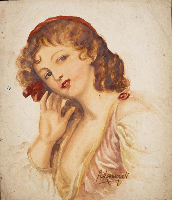 UNTITLED (Portrait of a European woman)