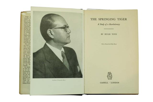 THE SPRINGING TIGER A STUDY OF SUBHAS CHANDRA BOSE