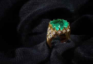 Colombian Emerald 18 ct Brilliant Cut