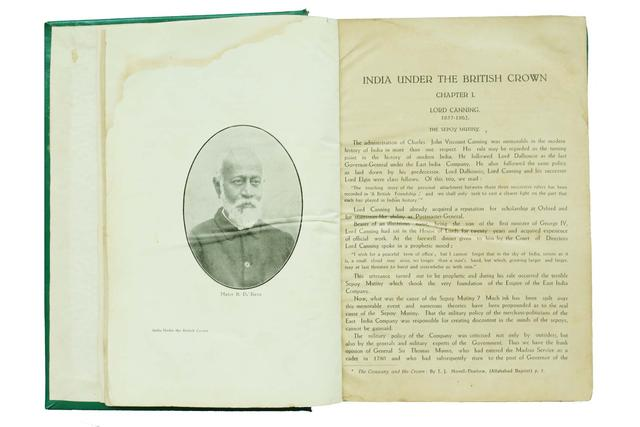 INDIA UNDER THE BRITISH CROWN