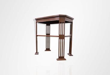 Teakwood side table