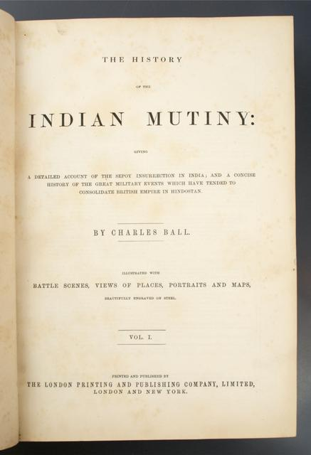 The History of the Indian Mutiny