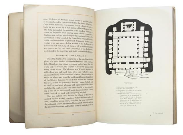 Guide to Ajanta Frescoes - Published in 1935 by H.E.H. The Nizam's Government