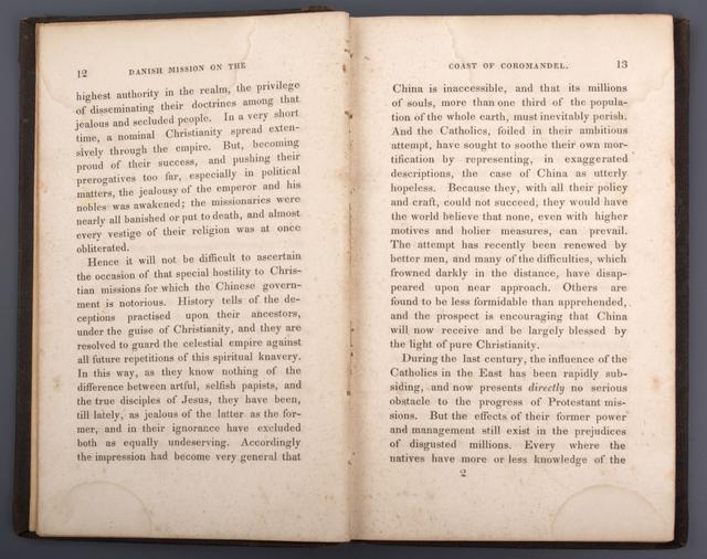 A Brief Narrative of the Danish Mission on the Coast of Coromandel