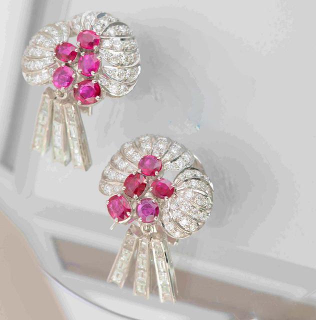 Art Deco Style Earrings