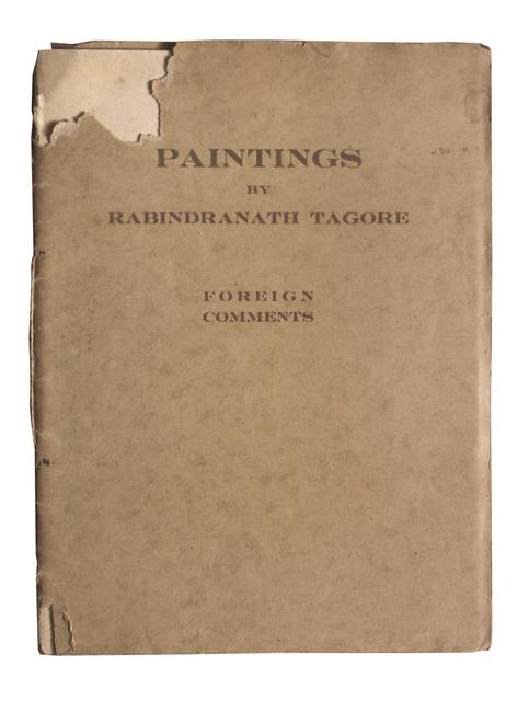 Foreign Comments on Paintings by Rabindranath Tagore circa 1930
