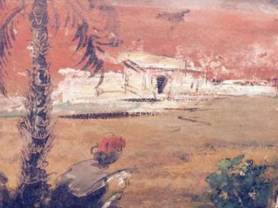 Sailoz Mukherjee : Oil Painting