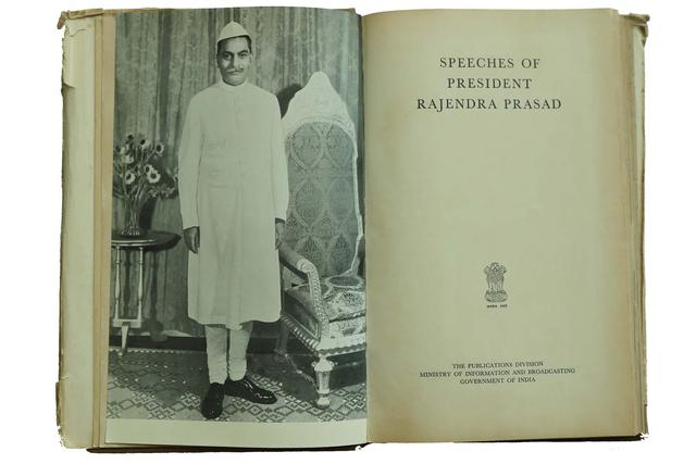 SPEECHES OF PRESIDENT RAJENDRA PRASAD