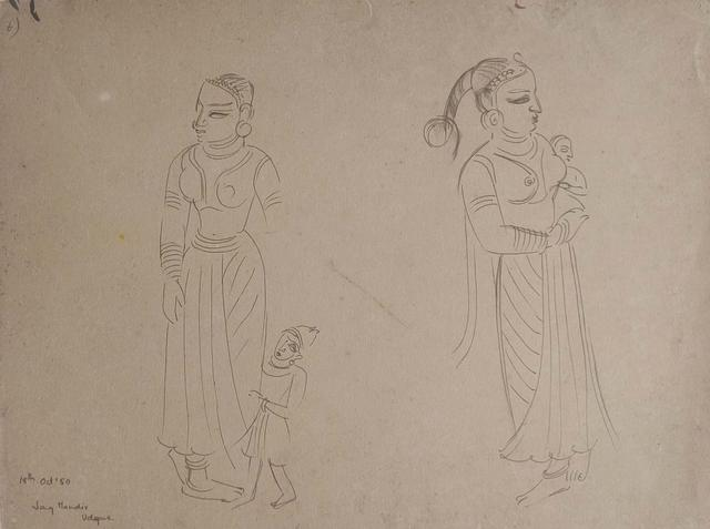 UNITITLED (Temple Sketches)