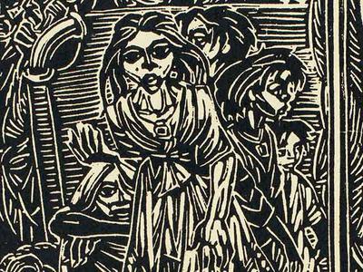 Chittaprosad : Linocut Prints