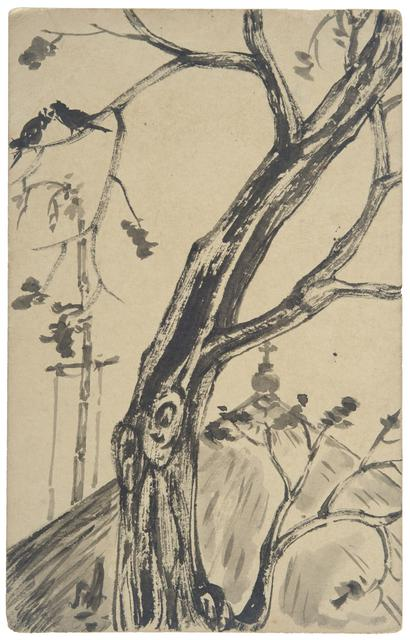 UNTITLED (Tree and Church)
