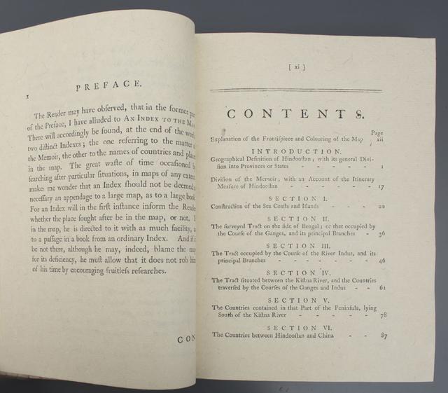 Memoir of a Map of Hindoostan or The Mogul's Empire