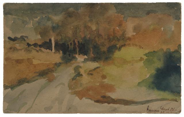 Untitled (Ghatshila Landscape) (Circa 1950)