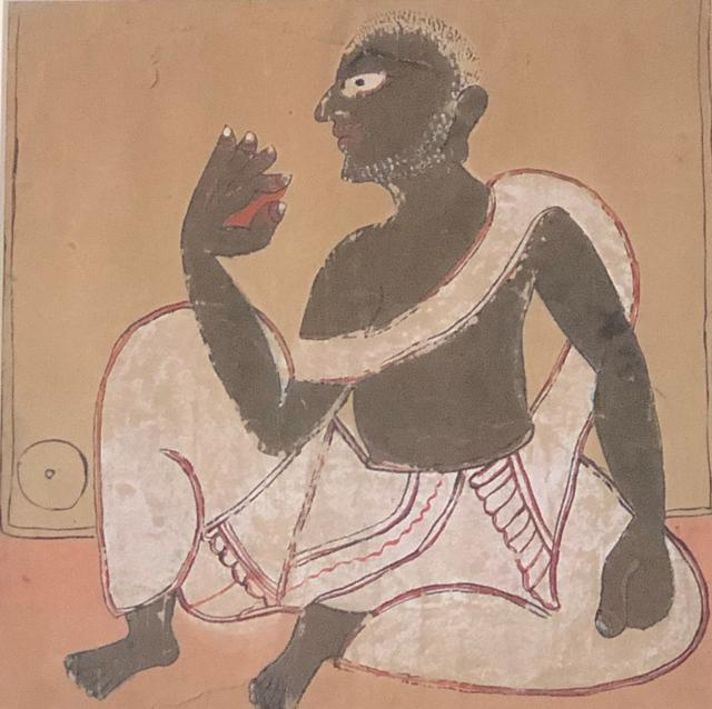 Untitled (Chakshudan Pat) (Early 20th Century)