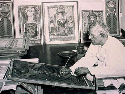Jamini Roy And His Painting Mediums