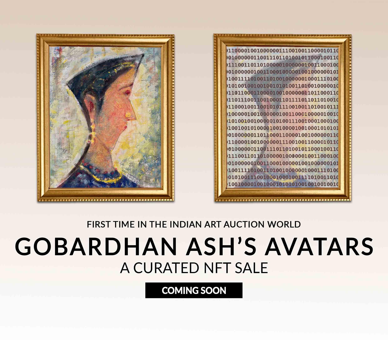 Gobardhan Ash- NFT Sale