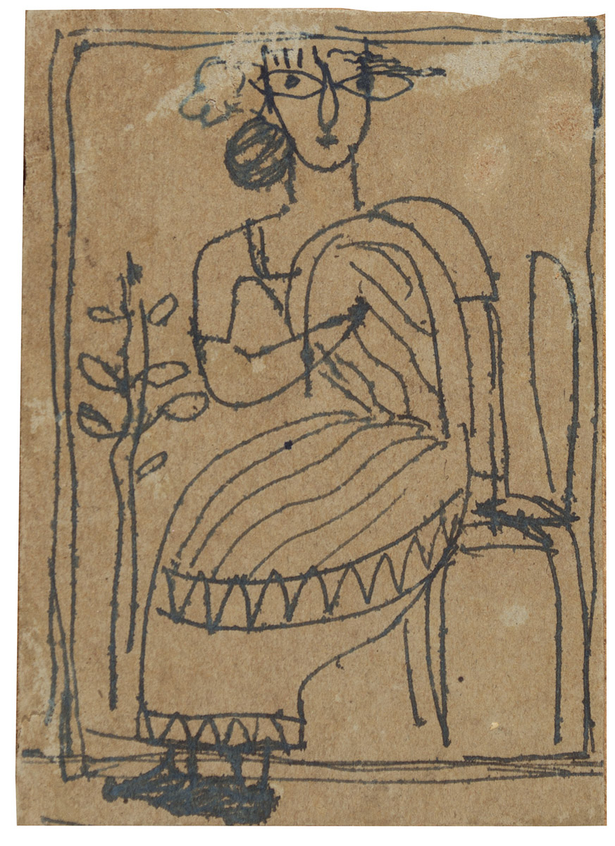 UNTITLED (Seated Lady)