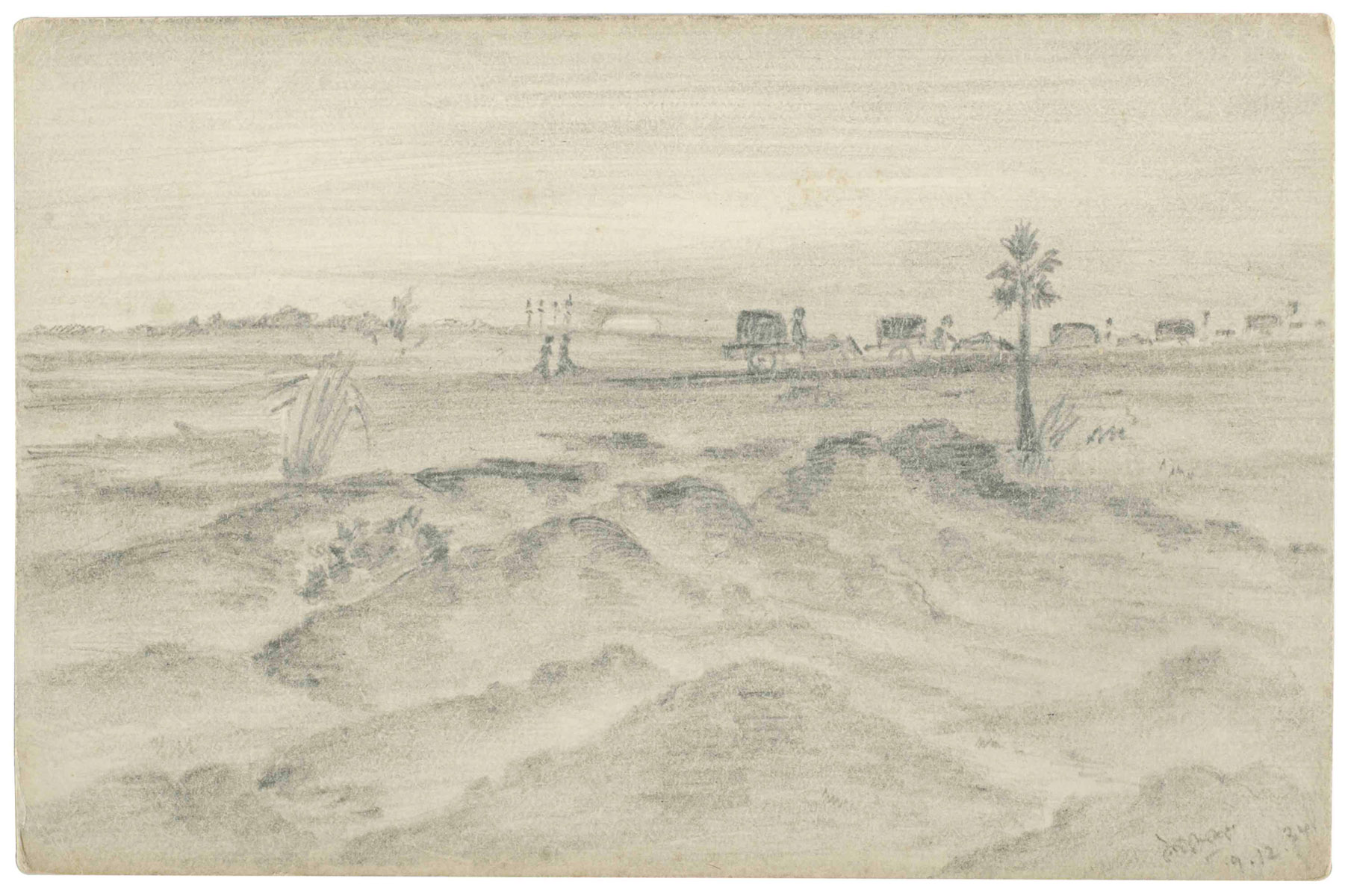 UNTITLED(Landscape with path)