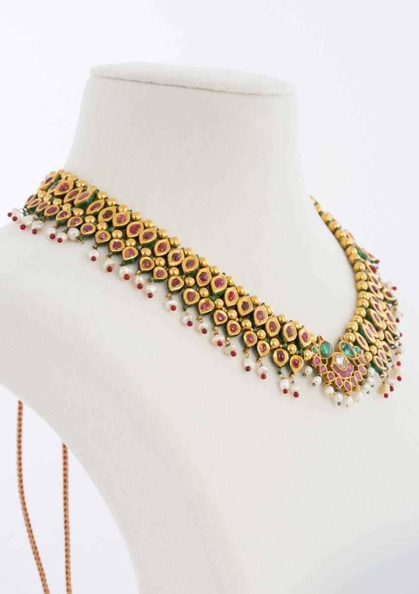 Jadau Gem Encrusted Necklace