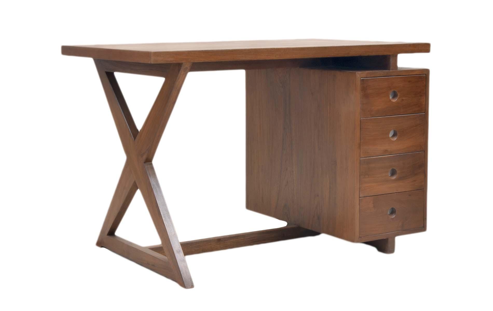 Four Drawer Desk