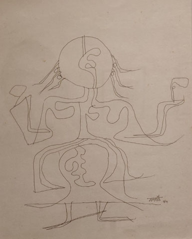 VS Gaitonde's Paintings - Technique And Processes