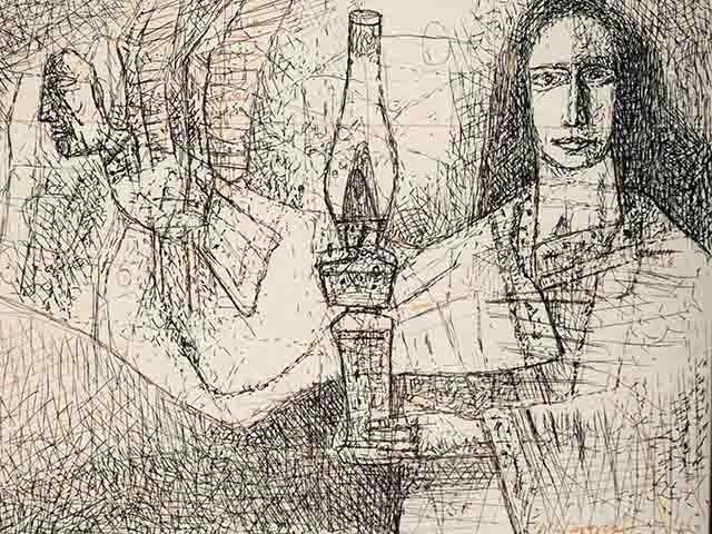 Ganesh Pyne: The Mystical Artist