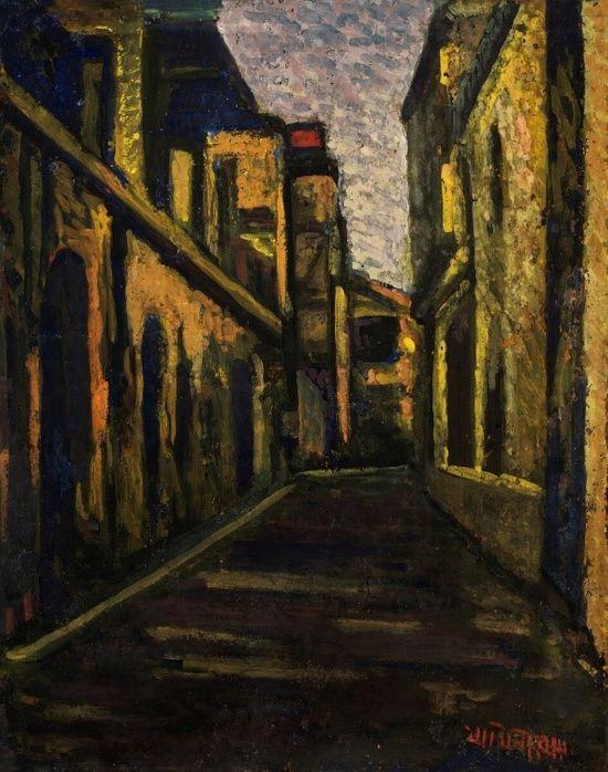 Jamini Roy Residence Painting