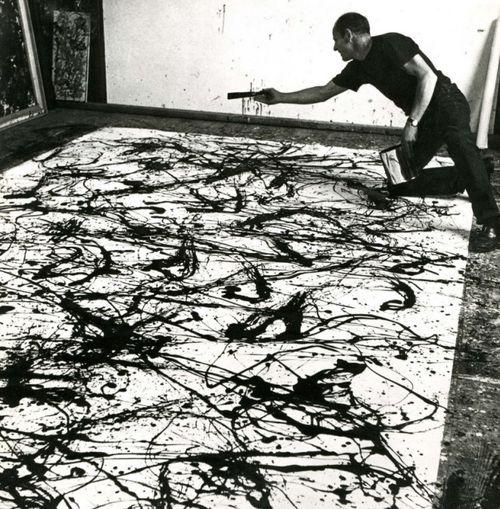 Jackson Pollock - Action Painter